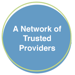 graphic - A Network of Trusted Providers